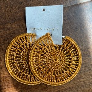 Free People x Serefina | Sunshine Hoop Earrings
